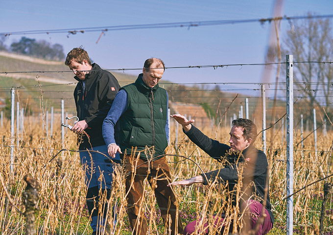 Vineyard-Manager-Martin-Walter-HRH-Donatus-Landgraf-von-Hessen-and-Dr