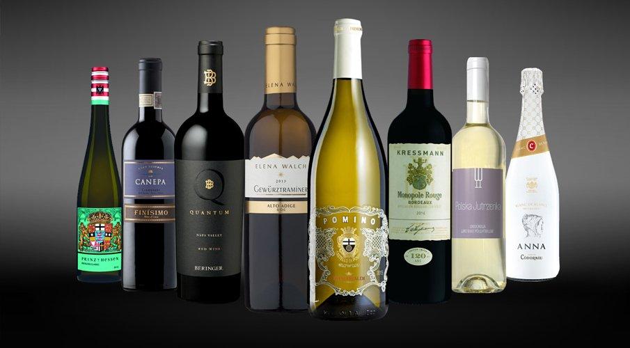 Szerokie portfolio win od najbardziej cenionych producentów