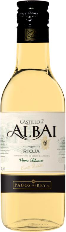 Castillo de Albai Viura Blanco 0,187 L