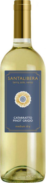Santa Libera Catarratto-Pinot Grigio