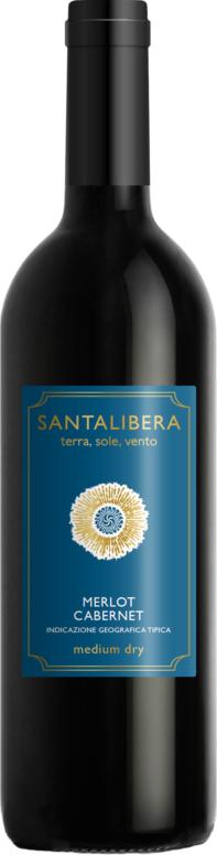 Santa Libera Merlot-Cabernet Sauvignon