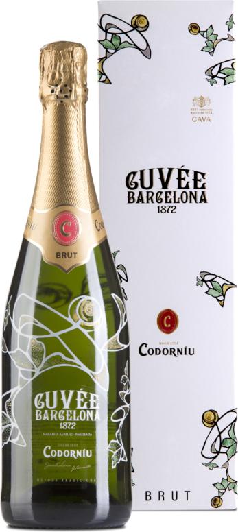 Cuvee Barcelona Cava Brut gift box